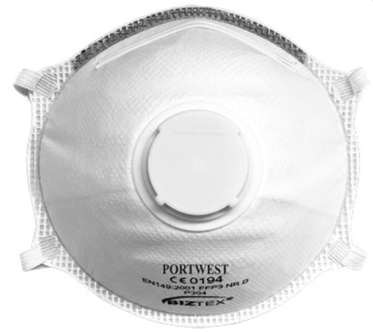Dust mask ffp3 p304 - Dust masks - Vandeputte Safety Experts
