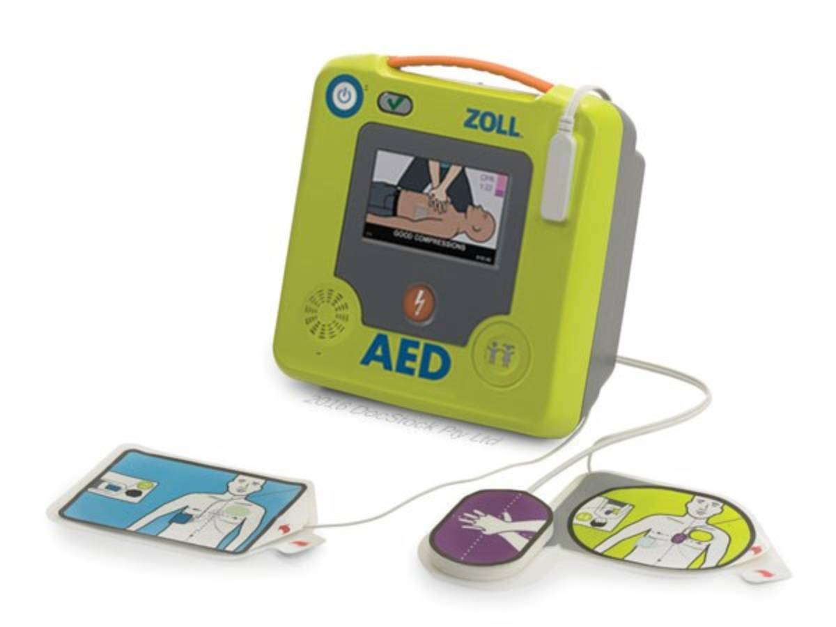 SEMI AUTOMATED ZOLL AED 3 NL