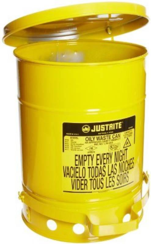 bac a dechet rond galvanise 80l jaune pi collection des d chets vandeputte safety experts. Black Bedroom Furniture Sets. Home Design Ideas