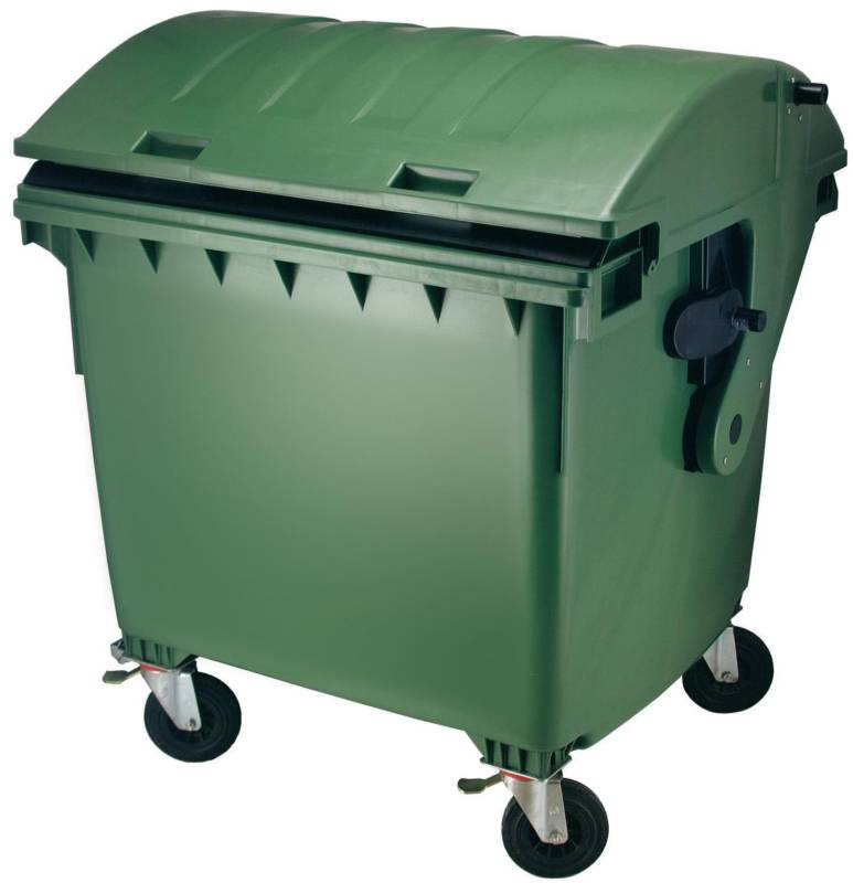 plastic afvalcontainer