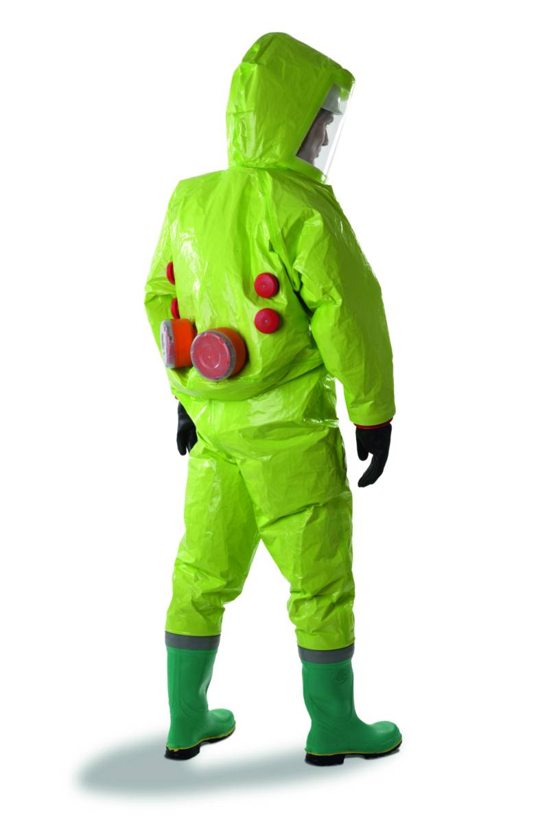 Decontamination Suit Prps Tychem Chemical Clothing