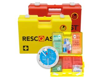 FIRST AID CASE BE RESC-Q-ASSIST Q100 YEL