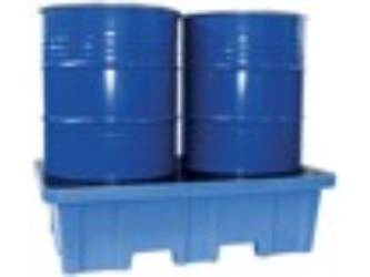 PLASTIC SPILL TRAY GRID 2 BARRELS REACHT