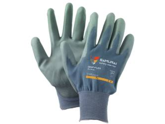 HANDSCHUHS GRIP-FLEX PU GRAY