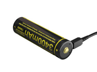 BATTERIE USB LI-ON 3400 MAH 18650