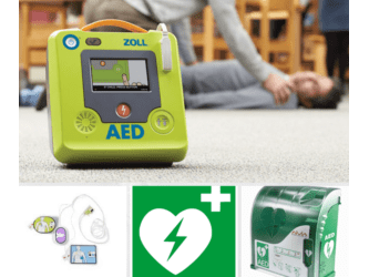 SEMI AUTOMATED KIT AED 3 FR
