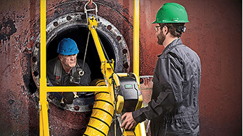 Safe entry into confined spaces