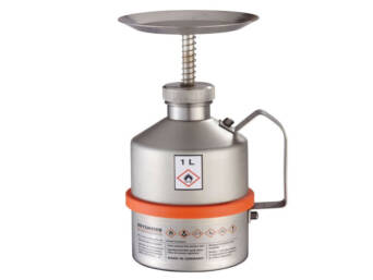PLUNGER CAN INOX 1L