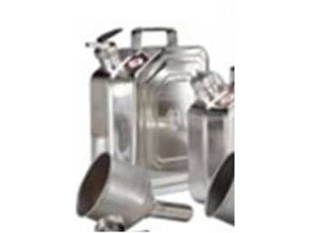 JERRYCAN INOX 5L WITH METERING CANNON