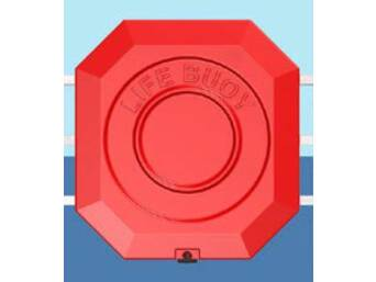 LIFE BUOY HOUSING GFE30 75CM+PAAL