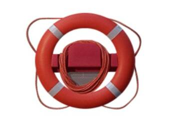 LIFE BUOY SUPPORT 75CM