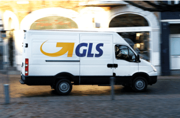 From now on, all our parcels go via GLS.