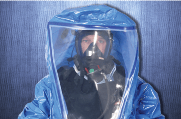 Respirex CHEMPROTEX SC4: the preferred suit of the Belgian department of home affairs