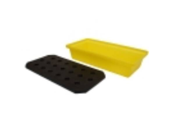 PLASTIC SPILL TRAY BLUE 805x405x170mm