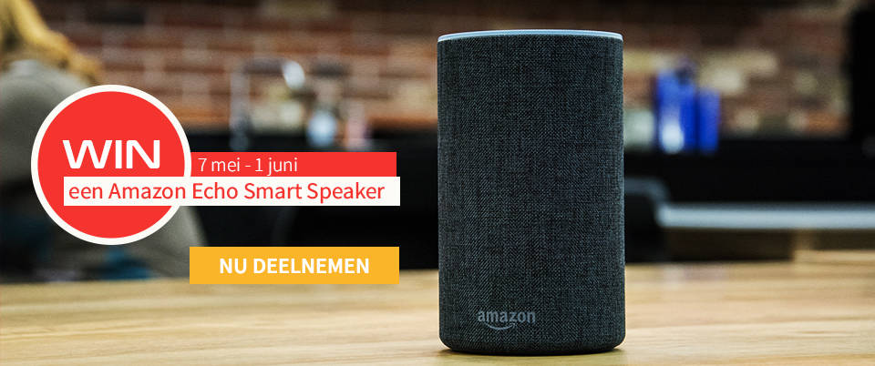 #SafetyWarrior: win een Amazon Echo Smart Speaker