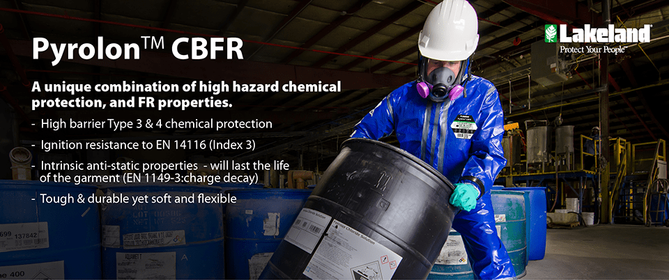 A unique combination of chemical protection and FR properties